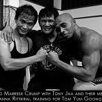 Marrese with Tony and Panna