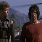 Martin Kove alongside Sylvester Stallone in Rambo 2