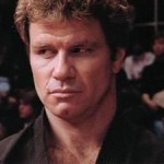 Martin Kove as the ruthless John Kreese in The Karate Kid