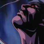 Ryu struggles to fight off Satsui No Hado