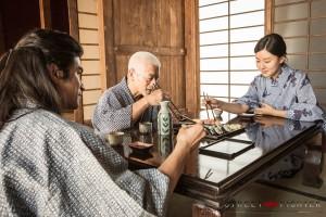Sayaka, Goutetsu and Gouken