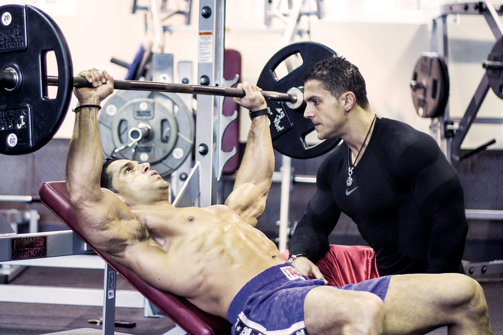 Self-motivation--bench-press