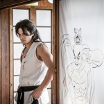 Shogen as young Gouki in SFAF