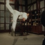 The butterfly kick is a classic wushu technique