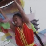Wu Jing performs a Southern Lion Dance