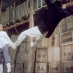 Wu Jing sends his opponent flying