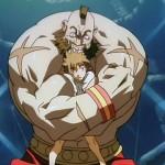 Zangief has Shun in his powerful grip