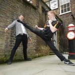 4. Being flexible is useful for the urban Ninja