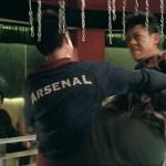 Were guessing Xing Yu is not an Arsenal fan