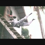 HK stuntmen sometimes have to bounce off several hard objects before they land