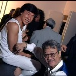 Jackie with his former mentor and manager Willie Chan