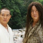 Jet Li and Jackie Chan meet for the first time in The Forbidden Kingdom