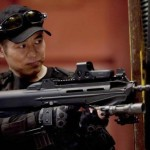 Jet Li as the formidable kung fu master Yin Yang in The Expendables