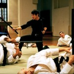 Jet Li takes on a whole karate class in Kiss of The Dragon