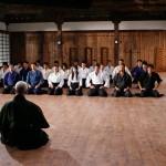 Ninja class at dojo
