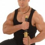 Silvio muscular katana