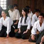 Students in the dojo
