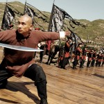 Vincent shows his mastery with the sword in True Legend