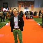 Jason Ninh Cao at the Shaolin Cultural event held in London