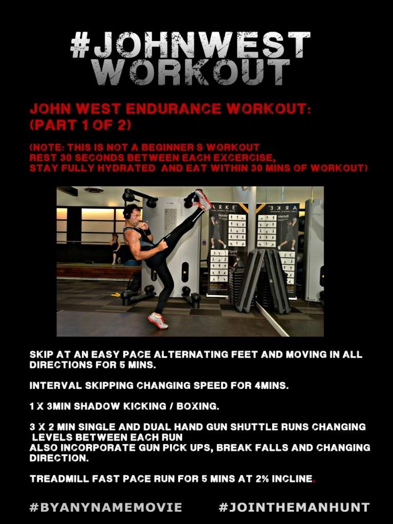 John West Workout 1
