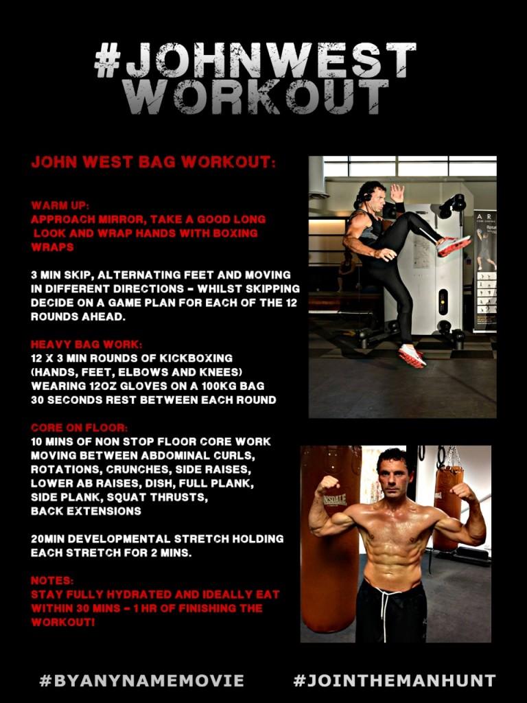 John West Bag Workout