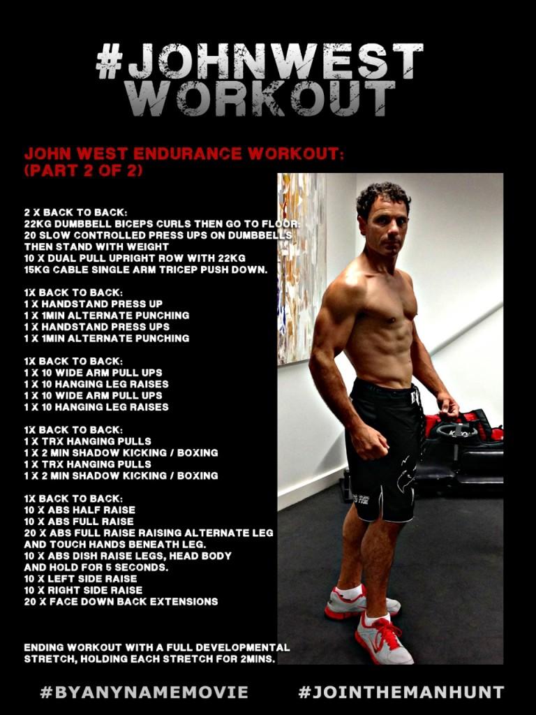 John West Workout 2