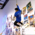 The JC Stunt Team hanging around the Stunt Lab