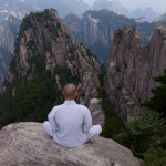 Shifu Yan Lei mountain meditation