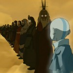 Aang sees all of his past lives