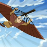 Aangs trusty bo staff also serves as a glider
