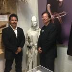 Director Art Camacho and Michael Matsuda at the Martial Arts History Museum