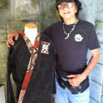 Hawaiian Kenpo Karate pioneer Bill Rysaki donating his uniform to the Martial Arts History Museum