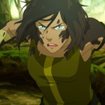 Korra always gets back up when shes been knocked down