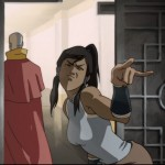 Korra has her eye right back on the chief