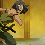 Korra recovers and prepares to counterattack
