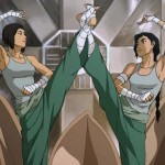 Kuvira trains to be the greatest soldier in Zaofu