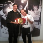 LEGEND Benny The Jet Urquidez with Michael at the MAHM