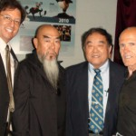 Legends in arms at the museum feat Fumio Demura