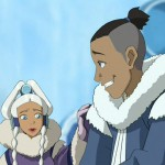 Sokka quickly becomes friends with Princess Yue