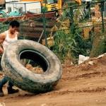 Strongman training efforts by Eddie Peng here