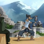 Suyin trains Korra to become the first Metalbending Avatar