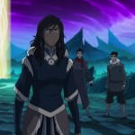 Team Avatar arrives in the Spirit World to stop Unalaq