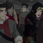 Team Avatar ready themselves for the mission ahead