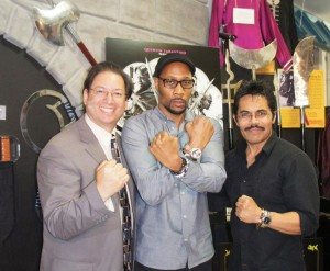 The RZA with Michael and Art at the MAHM!