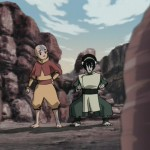 Toph puts Twinkletoes through the rigors of Earthbending training