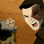 Zuko comes to the aid of his wounded Uncle Iroh