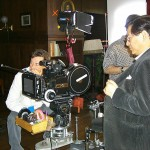 Drunken Master producer Ng See yuen on set