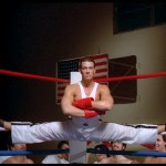 JCVD in his trademark splits