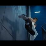 Jet Li in flying form