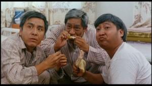 Sammo Hung and Richard Ng make a comic cameo